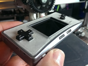 Faceplate for Gameboy Micro