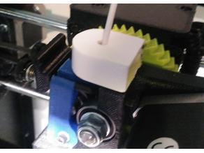 Lulzbot Mini filament cleaner