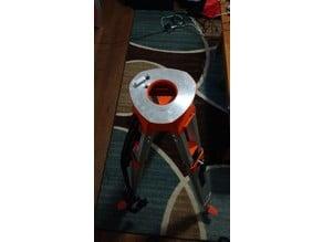 Vixen Super Polaris Surveyors tripod adapter