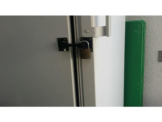 Kühlschrank Verriegelung : Kühlschrank verriegelung by madcre thingiverse