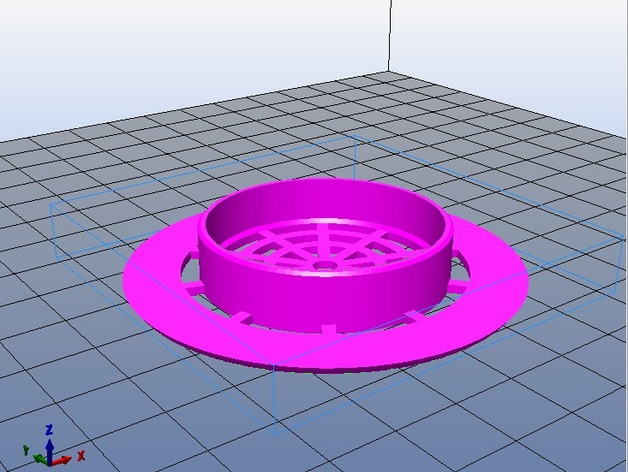 Hair Trap For Shower Drain By Patoch Thingiverse