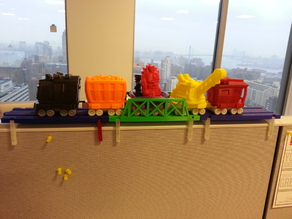 Cubicle Train Track