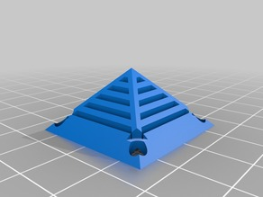 30mm fan grille - pyramid shaped