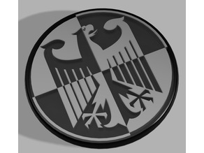 60mm badge « Coat of arms of Germany » for BMW F800R