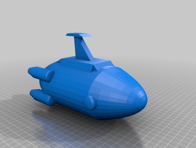 Subnautica Aurora by Z-mech - Thingiverse