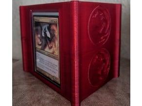 Magic: The Gathering - Commander Deck Box with Mana Symbols