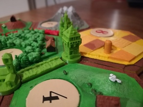 Towers of Catan - VARIATIONS