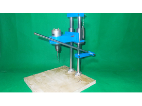 005-Homemade Precision Press Drills DIY Drilling Rotary Wood Hand Tools Stand Cheap Drill 2