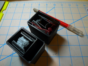 Tie Advanced and Interceptor Bins for Harbor Freight Org. (X-Wing TMG)