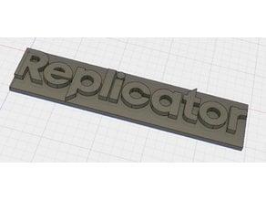 Replicator Makerbot logo