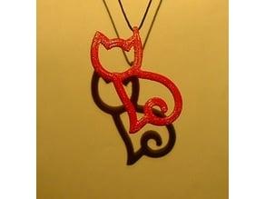 Cat Pendant (2)