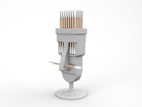 Q-tips Holder