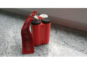 Holder for battery liquid container - AddOn