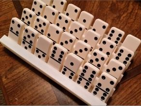 Domino tile holder