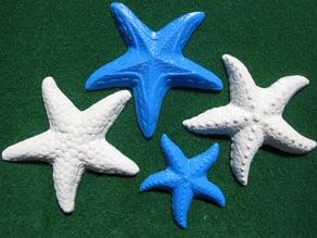 Three Starfish Plaques