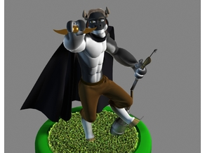 Mr. Hærry Tauren Pose 1