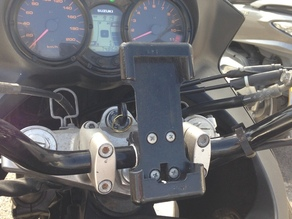 iPhone holder for motorcycle