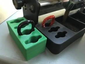 Park tools spoke wrench holder