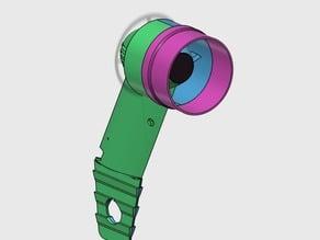 FPV caméra support aérodynamique