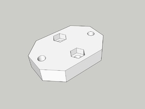Mount for Aluminium Plate