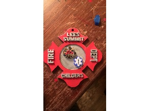 Fire/Ems Customizable Plaque