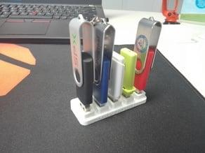 USB Pen Holder - 5 Slots