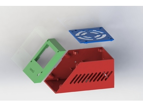 Controlbox 3D Printer, MKS GEN L, 80mm Fan, LM2596