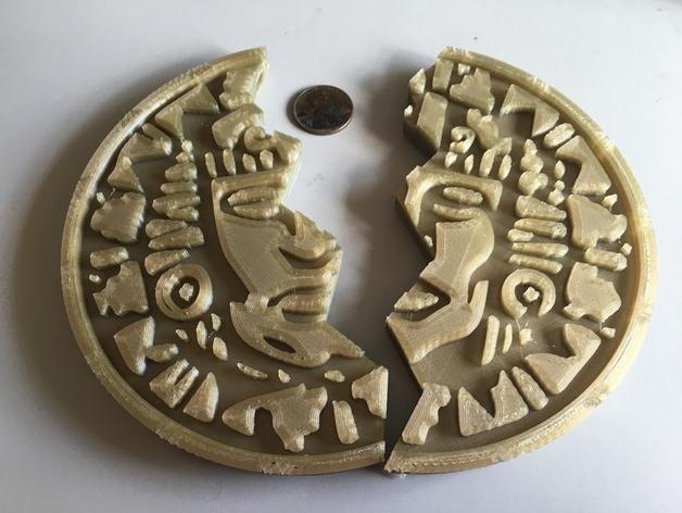 Legends of the hidden temple pendant of life full half by tjjohn12 thingiview aloadofball Gallery