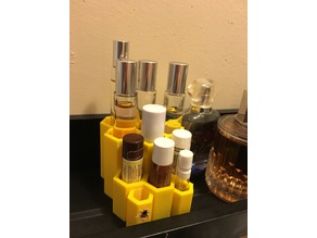 Honeycomb Perfume and Chapstick Stand