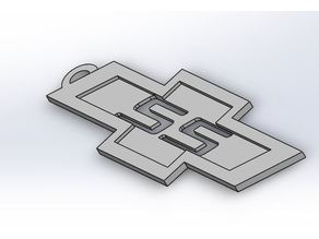 Chevy SS Keychain