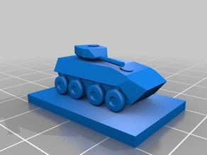 Scout tank for Panzerkampf