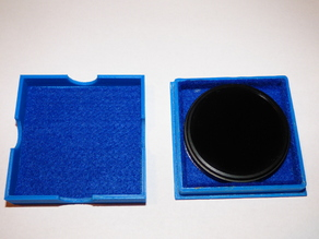 Case for IR filter 55 mm