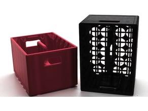 Stackable storage box beer crate