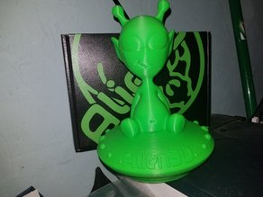 Alien3D Mascot by ChaosCoreTech