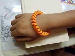 Flexible Spiral Bracelet