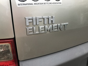 """Fifth"" emblem for Honda Element"