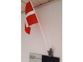 Mini fig flag carrier