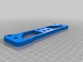 Anet A6 front and rear bed rod supports