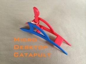 Micro Desktop Catapult
