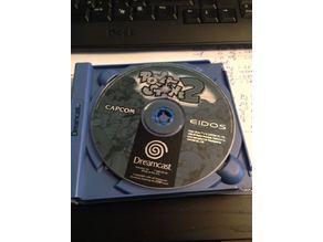 Sega Dreamcast CD Cover replacement