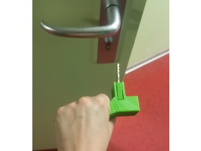 OT student project : adaptable key handle / poignée de clé adaptable