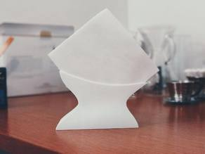 Max's Coffee Filter Holder (Chemex / Melitta, Napkins)