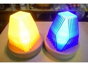 Fractal Led Lamp