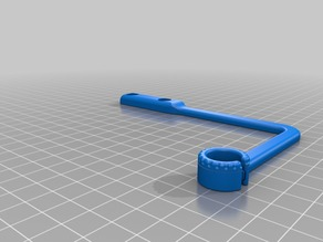 Wanhao i3 Filament Guide (w/ Integrated Locking Ring)