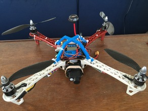 F450/Q450 Flame Wheel Quadcopter Top Cage