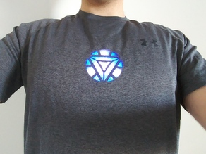 Arc Reactor MK VI (wearable under t-shirt)