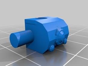 Blast-Tercel Gunship (28mm) - front parts