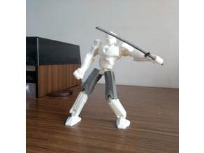 Muñeco de acción articulado
