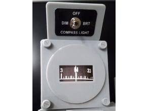 737 Wet Compass