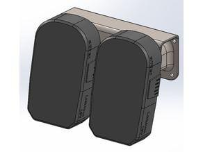 Ryobi, 18v +, Battery wall mount
